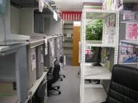 中古オフィス家具の専門店!ありがとう屋の店内です