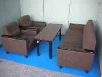 中古オフィス家具のおうせつセットです!人気のオカムラ製がこの価格で!?