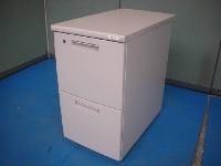 リサイクルオフィス家具☆2段脇机